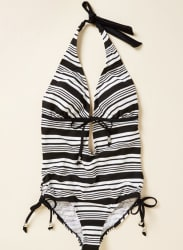Modcloth Women's Shoreline One-Piece Swimsuit $49