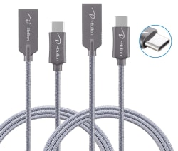 I-Bollon 3-Foot USB Type-C Cable 2-Pack for $7