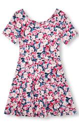 The Children's Place Girls' Knit Skater Dress $7