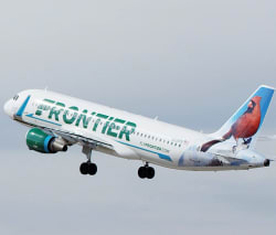 Frontier Airlines Nationwide Spring Fares from $28 1-way
