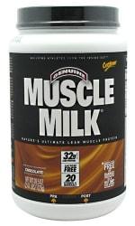 2 CytoSport Muscle Milk Powder 40-oz. Tubs $22