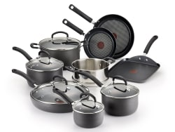 T-Fal Ultimate Hard Anodized 14-Piece Set $100