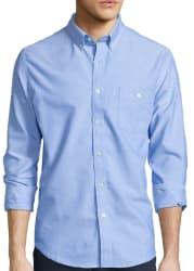 Arizona Men's Long-Sleeve Uniform Shirt for $11