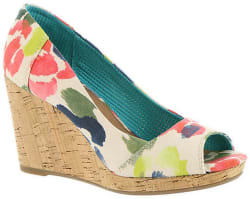 Toms Women's Stella Wedge Pumps for $59