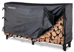 Landmann 8-Foot Log Rack and Cover for $26