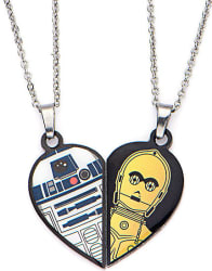 Star Wars R2-D2 & C-3PO BFF Necklace Set $4