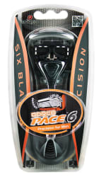Dorco Men's Pace 6 Razor w/ 2 Cartridges for $2