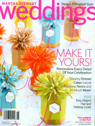 Weddings Magazine 1-Year Subscription for free