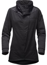 The North Face Women's Long Pseudio Jacket for $82