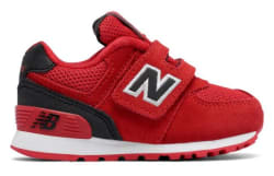 New Balance Boys' 574 Hook and Loop Sneakers $25