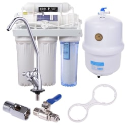 Reverse Osmosis 5-Stage Water Filter System $89
