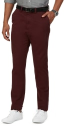 Nautica Men's Classic Fit Flat Front Pants for $16