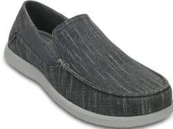 Crocs Men's Santa Cruz II Luxe Slub Slip-Ons $29