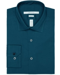 Perry Ellis Men's Ultra Slim Dress Shirt for $15