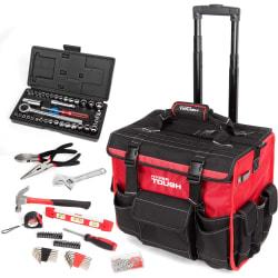 HyperTough 174-Piece Tool Set w/ Trolley Bag $89