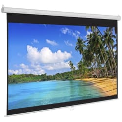 """Best Choice 119"""" Manual Projection Screen for $37"""