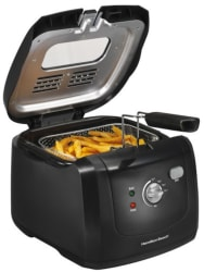Hamilton Beach 2-Liter Cool Touch Fryer for $25