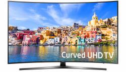 "Samsung 43"" Curved 4K WiFi LED UHD Smart TV $450"