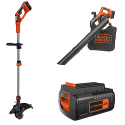 Black + Decker Garden Tools at Amazon: 25% to 50% off + free shipping