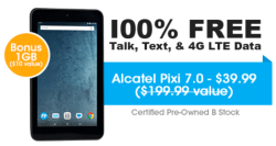 100% Free Service Refurb Tablet at FreedomPop $40