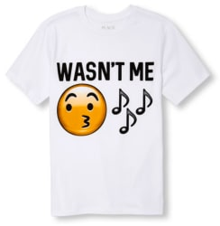 The Children's Place Boys' Emoji Tee for $3
