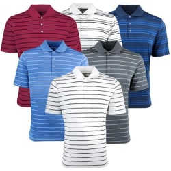 adidas Men's Mystery Polo Shirt 2-Pack for $38