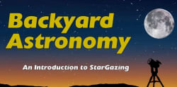 Backyard Astronomy Introductory Course for $10