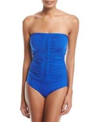 Jantzen Women's Ruched Bandeau Swimsuit for $53