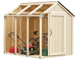 Hopkins 2x4 Basics Shed Kit w/ Peak Roof for $52