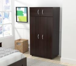 Inval 4-Door Wardrobe/Armoire $146