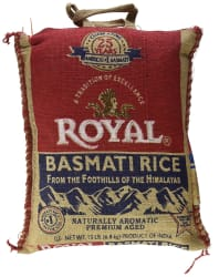 Royal Basmati Rice 15-lb. Bag for $12