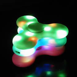 Fidget Spinner Bluetooth Speaker w/ LEDs for $4