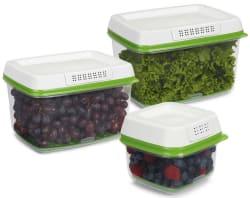 Rubbermaid FreshWorks 3pc Produce Saver Set $25