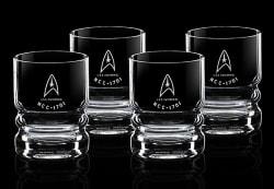 Star Trek U.S.S. Enterprise Glassware Set for $12