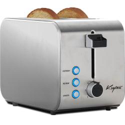 Keyton Stainless Steel 2-Slice Toaster for $12
