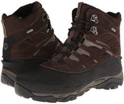 Merrell Men's Moab Polar Waterproof Boots for $55