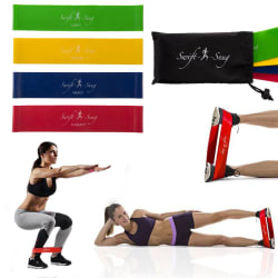Workout Rubber Band & Carry Case Set for $7