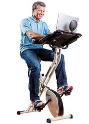 FitDesk v2.0 Exercise Bike Desk for $175
