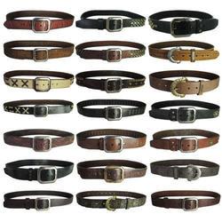 True Religion Men's Leather Belt for $15