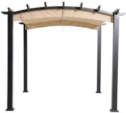 Hampton Bay 9x9-Foot Arched Pergola w/ Canopy for $124 + pickup at Home Depot