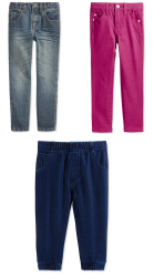 Boys' and Girls Jeans at Macy's: $10 off + 20% off