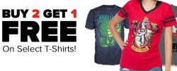 Gaming T-Shirts at Gamestop: Buy 2, get 3rd free