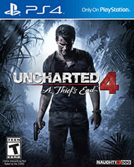 Used Uncharted 4: A Thief's End for PS4 for $25