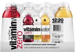 Vitaminwater Zero 20-oz. Bottle 12-Pack