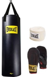 Everlast 100-Lb. Heavy Bag Kit w/ Stand