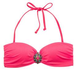 H&M Women's Bandeau Bikini Top for $10