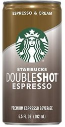 Starbucks Doubleshot Coffee Drink 12-Pack for $10 + free shipping