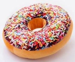 Plush Doughnut Shaped Pillow for $5