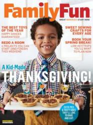 Family Fun Magazine 1-Year Subscription free