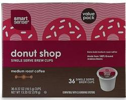 Smart Sense K-Cup 36-Pack w/ $12 Kmart GC for $12